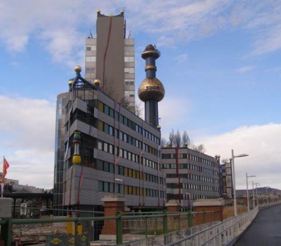 Spalarnia śmieci w Wiedniu. Fot. Agata Sumara, inzynieria.com