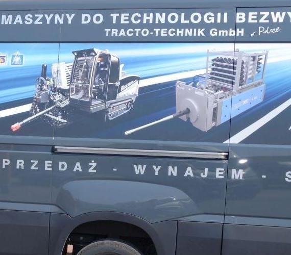 TYLKO U NAS: rośnie zainteresowanie firm telekomunikacyjnych sprzętem do prac bezwykopowych