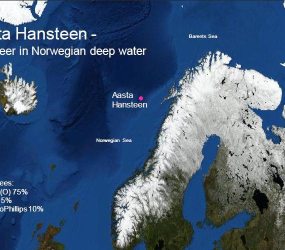 Statoil przyznał kontrakty związane z udostępnieniem złoża Aasta Hansteen