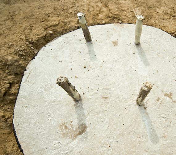 Pale, mikropale i kolumny mniejszych średnic