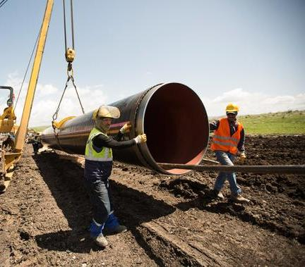 Gazociąg TANAP ma ruszyć w 2018 r. Wykonano 77 proc. prac