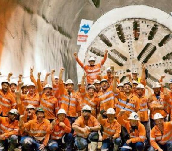 Tunel na lotnisku zrewolucjonizuje ruch na północ od Brisbane