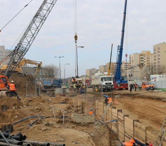 II linia metra: Gülermak rozpoczyna budowę stacji Płocka
