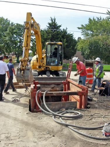 Fot. 1. Consolidated Mutual Water Company podjęło decyzję o rozpoczęciu w kwietniu 2010 r. programu wymiany 7000 m rur wodociągowych metodą burstliningu