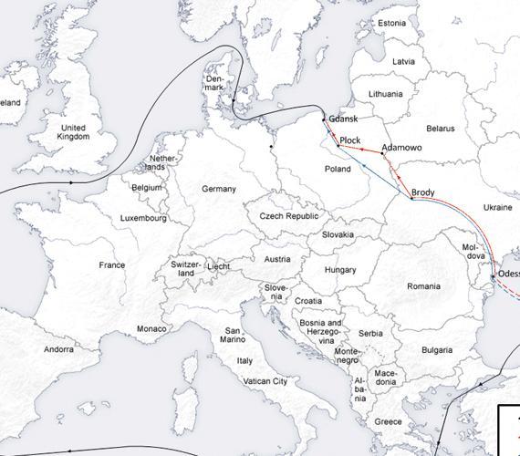 Polska potrzebuje ropociągu Odessa - Brody - Płock