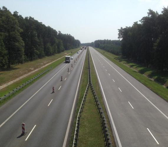 Opolski odcinek A4. Fot. GDDKiA o. Opole