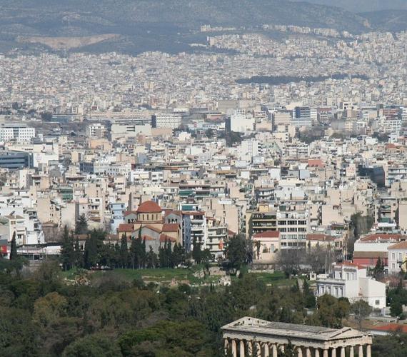 Ateny przez jeden dzień bez metra