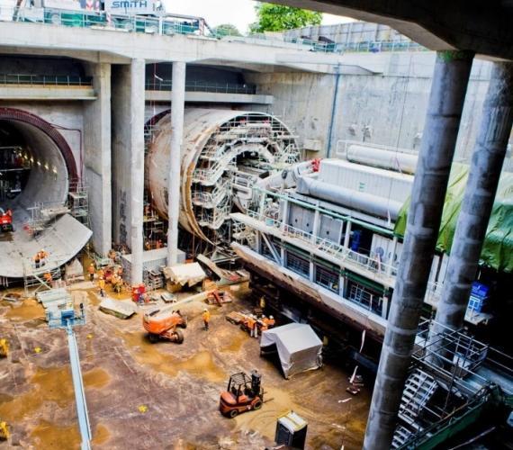 Koniec ważnego etapu prac w ramach budowy tuneli w Nowej Zelandii