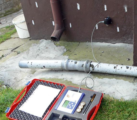 Sterowanie robotami geotechnicznymi w oparciu o pomiary drgań w otoczeniu budowy