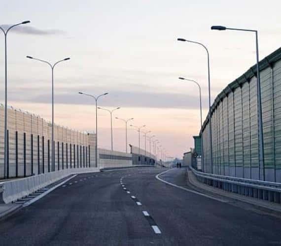 Otwarcie mostu Marii Skłodowskiej-Curie w Warszawie 24 marca 2012 r. Fot. z archiwum Ministerstwa Transportu, Budownictwa i Gospodarki Morskiej