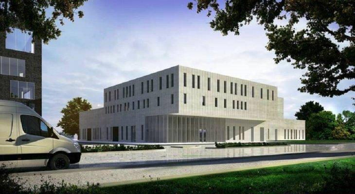 Politechnika Wrocławska buduje centrum badawcze. Fot. Politechnika Wrocławska