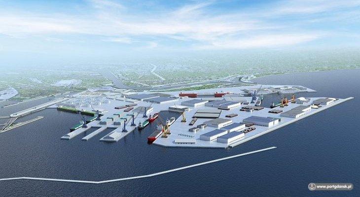 Tak może wyglądać Port Centralny. Źródło: ZMPG