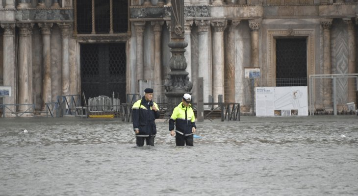Wenecja – 29.10.2018. Fot. Comune di Venezia / Twitter