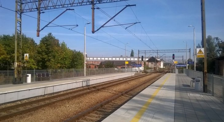 Stacja Kuźnia Raciborska. Fot. PKP PLK