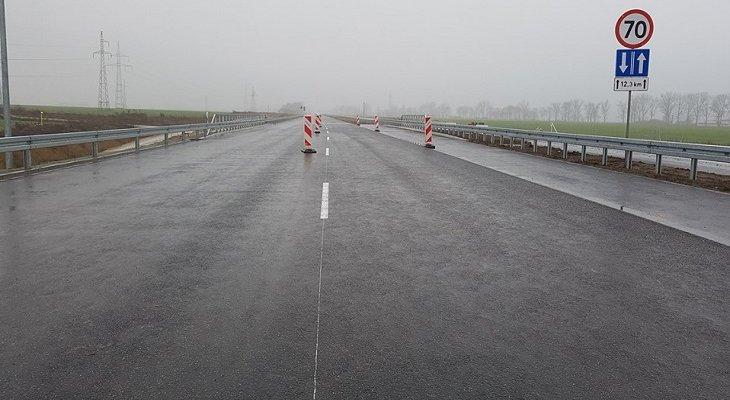 Udostępniona jezdnia S5 k. Poznania. Fot. GDDKiA
