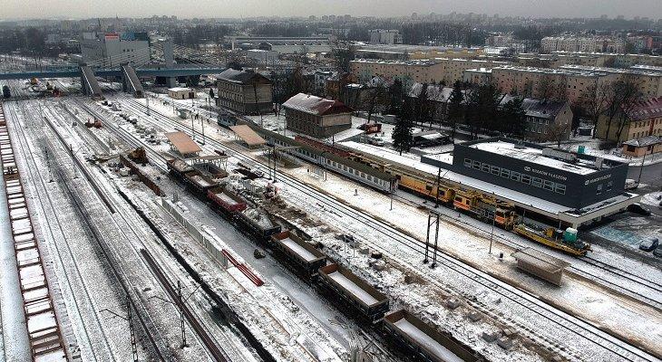 Stacja kolejowa Kraków Płaszów. Fot. PKP PLK