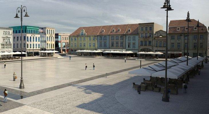 Rewitalizacja Starego Rynku w Bydgoszczy. Źródło: UM Bydgoszcz