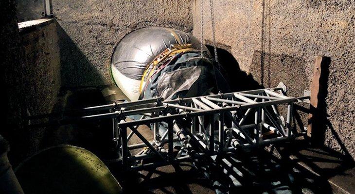 FOT. 1. | Renowacja z zastosowaniem Alphaliner1800VE na obszarze przemysłowym