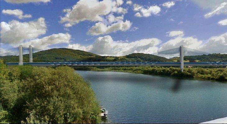 Most w Kurowie: wizualizacja. Źródło: GDDKiA