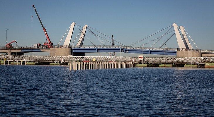 Most na Wyspę Sobieszewską w Gdańsku. Fot. Krzysztof Mystkowski / KFP