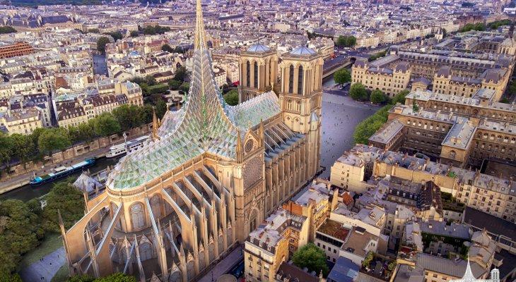 Czy tak będzie wyglądać odnowiona katedra? Źródło: Vincent Callebaut