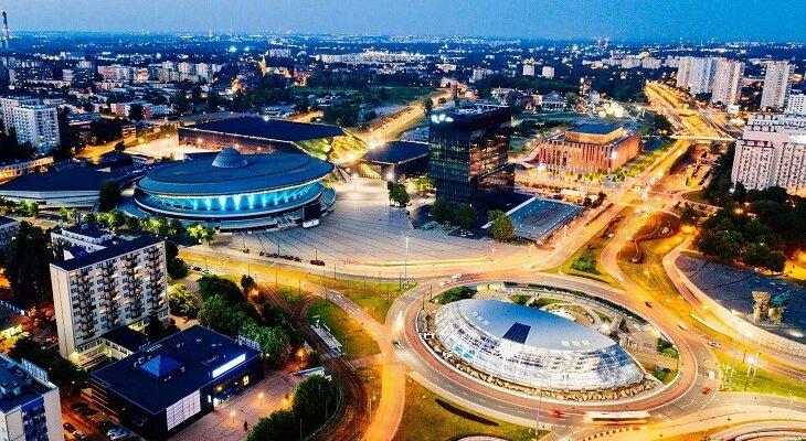 W Katowicach mieszka około 300 tys. osób. To pod tym względem 10. miasto w Polsce. Fot. antic/Adobe Stock