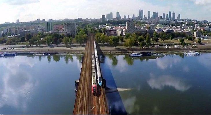 Most średnicowy. Wizualizacja: PKP PLK