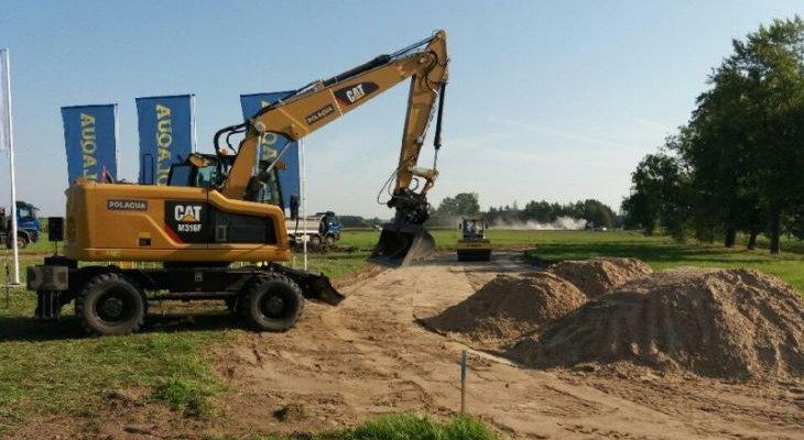 Rozpoczęto budowę drugiego odcinka Via Baltica. Fot. GDDKiA