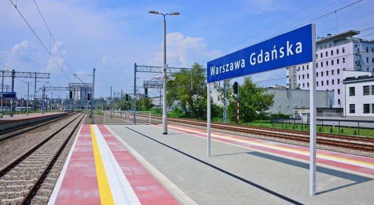 Stacja Warszawa Gdańska. Fot. PKP PLK