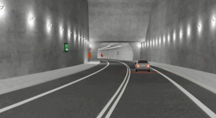 Wizualizacja tunelu w Świnoujściu. Źródło: GDDKiA