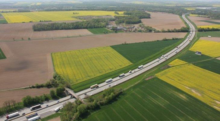 Autostrada A4 na Dolnym Śląsku. Fot. GDDKiA