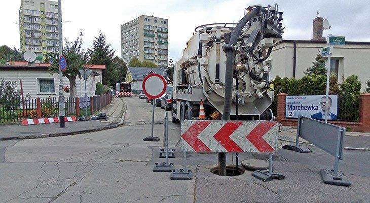 Bezwykopowa renowacja sieci kanalizacyjnej