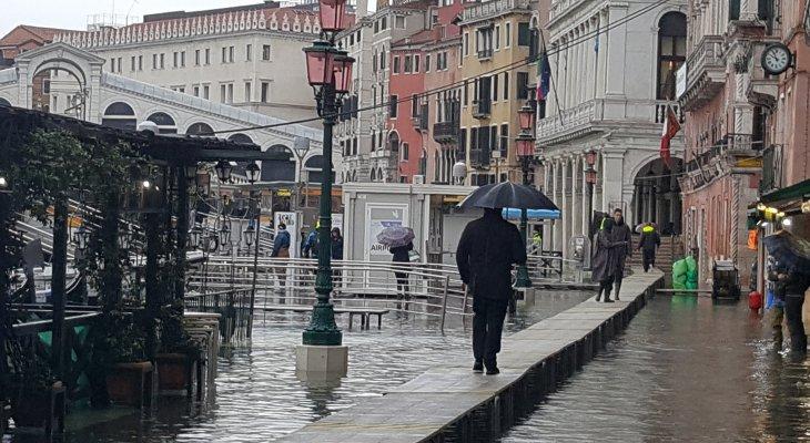 Powódź w Wenecji, największa od ponad pół wieku. Fot. Comune di Venezia