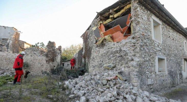 Trzęsienie ziemi we Francji. Fot. Twitter