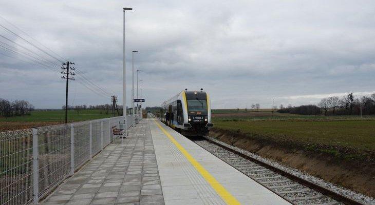 Przystanek kolejowy. Fot. PKP PLK / Anna Hampel