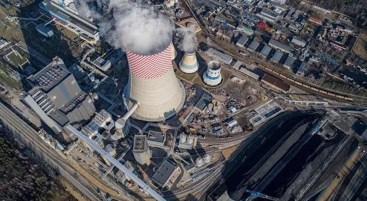 Blok 910 MW w Elektrowni Jaworzno. Fot. Tauron