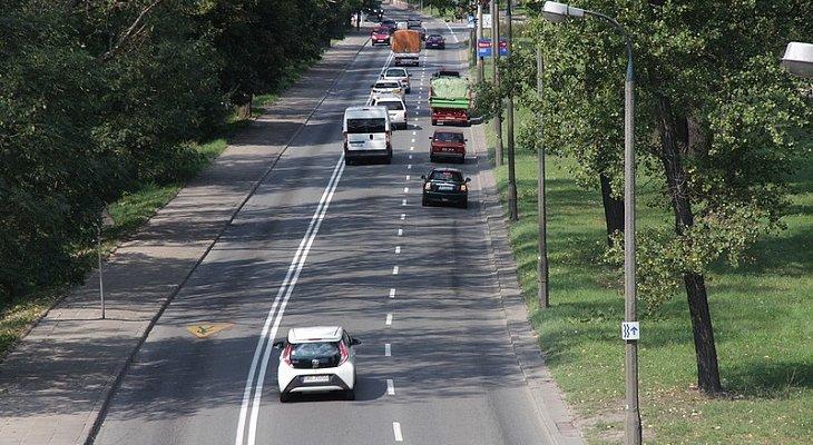 Przebudowa ulic Wybrzeże Szczecińskie i Wybrzeże Helski w Warszawie. Fot. ZMID