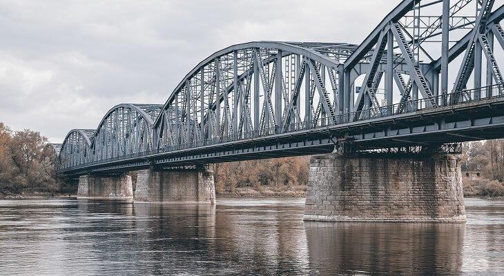 Most Piłsudskiego w Toruniu. Fot. Grzegorz Polak/Adobe Stock