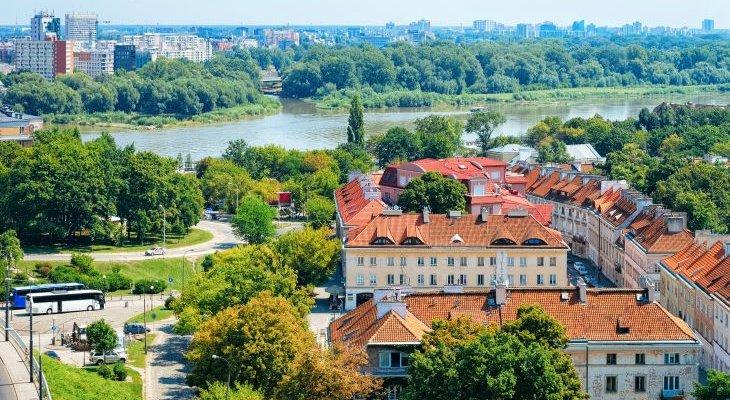 Ochrona przeciwpowodziowa Warszawy jest koniecznością. Fot. Adobe Stock / Roman Babakin