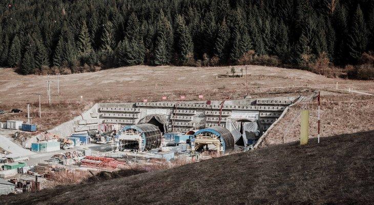Tak ma wyglądać portal tunelu Višňové. Źródło: geoconsult.sk