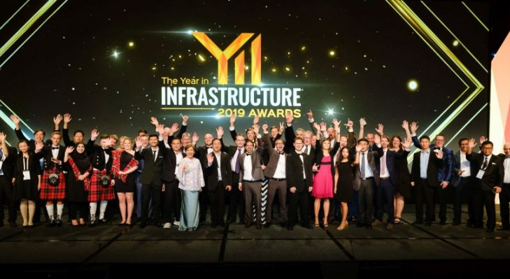 Zdobywcy nagród Year in Infrastructure 2019. Fot. Bentley Systems