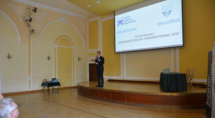 XIX Seminarium Geotechnika dla Inżynierów. Fot. IBDiM