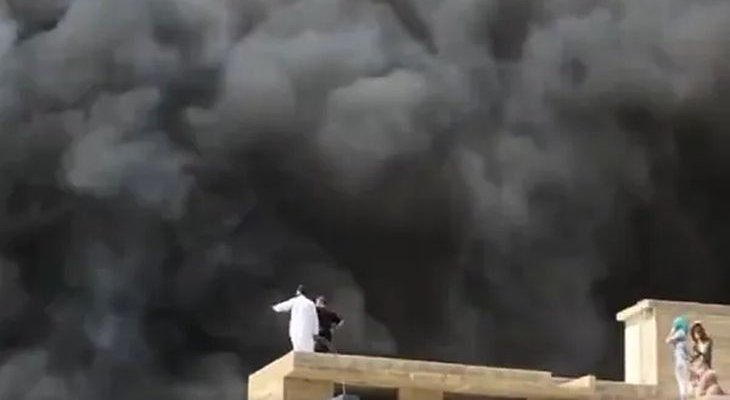 Katastrofa lotnicza w Pakistanie. Fot. Twitter