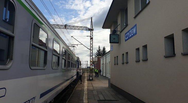 Stacja Czyżew. Fot. Mirosław Siemieniec/PKP PLK