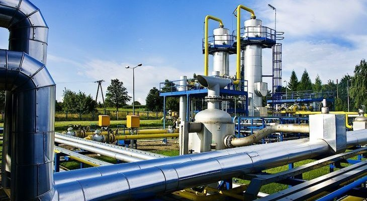 System przesyłowy gazu ziemnego. Fot. Gaz-System