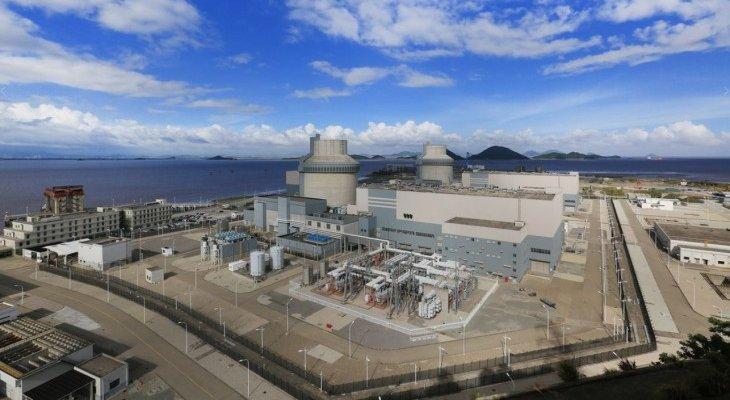 Reaktory AP1000 w chińskiej elektrowni. Fot. Sanmen Nuclear Power