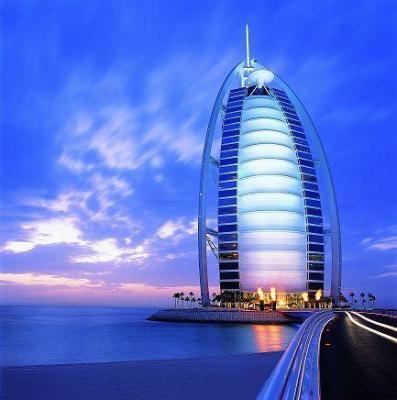 Hotel Burdż Al Arab w Dubaju