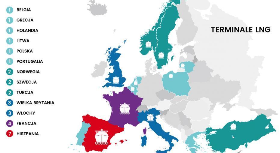 Jakie Terminale Lng Dzialaja W Europie Zobacz Zestawienie