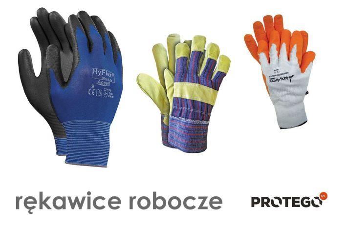 47dd9dc89b745f Rękawice robocze ze sklepu Protego - dopasowane do potrzeb wielu stanowisk