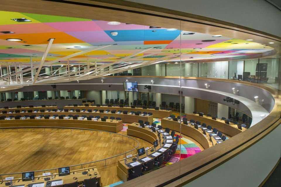 Spektakularna siedziba władz Unii Europejskiej